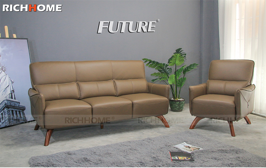 Sofa băng da bò - Future Model H-09 (1+3)